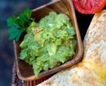 Chayote-guacamole Snack